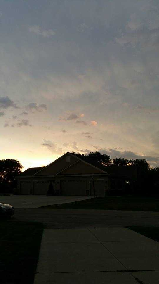 Before the storm in Racine