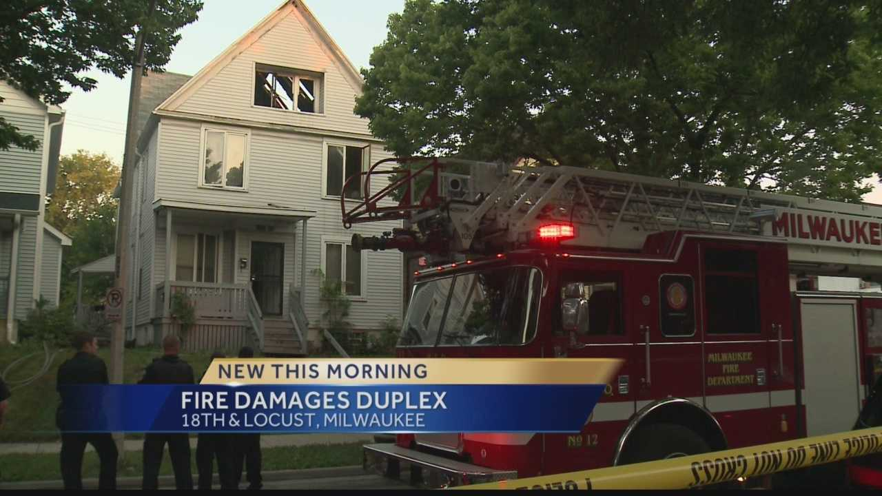 Fire Damages Duplex