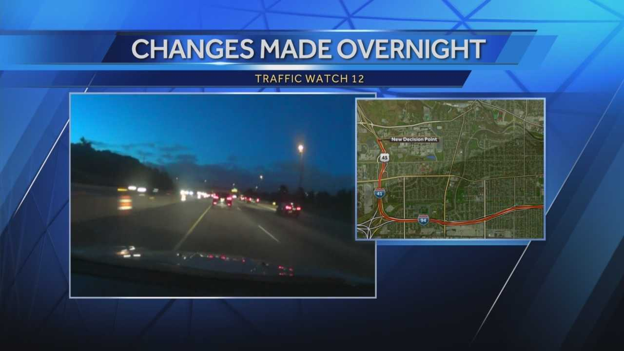 A new ramp at the Zoo Interchange is now open. WISN 12 News' Hillary Mintz shows what it means for drivers.