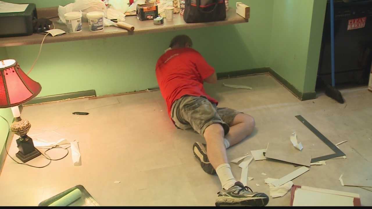The rehab is part of 'Project Rebuilding Together Greater Milwaukee'