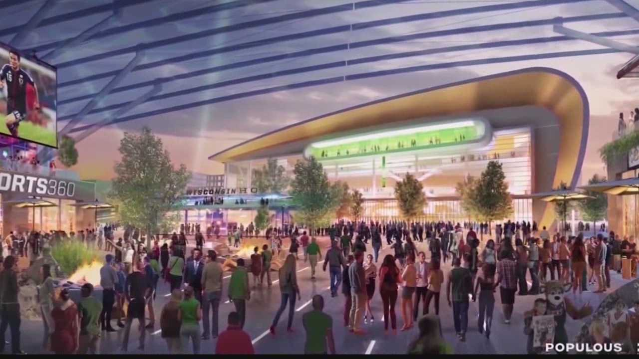 WISN 12's Kent Wainscott shows us how the new Bucks arena may have been a bargaining chip that helped the city strike a deal to protect residents.
