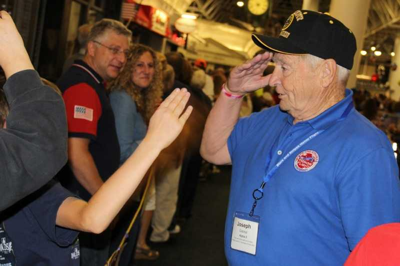 The First Stars and Stripes Honor Flight out of Milwaukee was in November 2008.