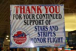 For more on WISN's continuing coverage of Honor Flights click here.  (http://on.wisn.com/1Jc6Cju