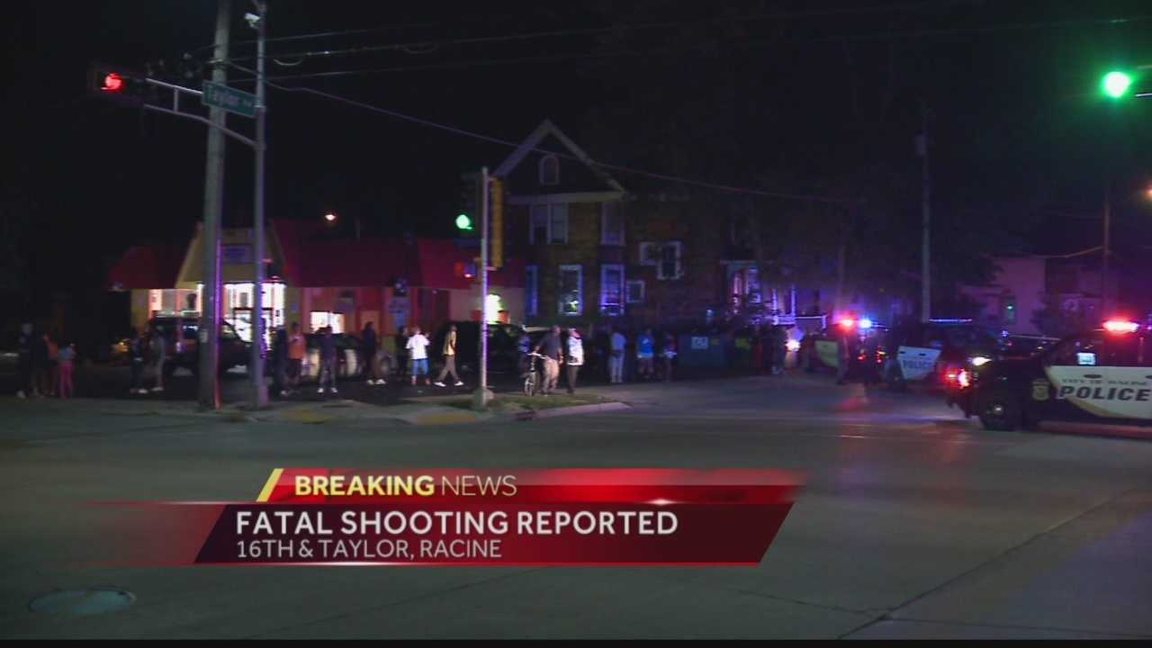 Racine police spent all night on the scene of a fatal shooting that happened late Sunday night.