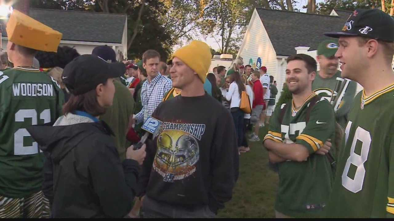 There's lot of excitement at Lambeau Field as the Packers take on the Chiefs Monday night.