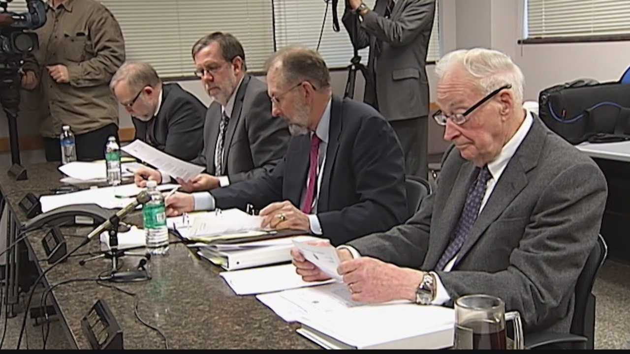 The proposal is to split the Government Accountability Board into two commissions.