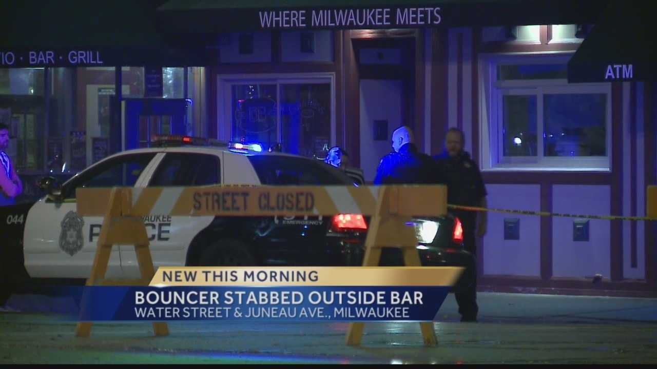 Bouncer Stabbed at Downtown Bar