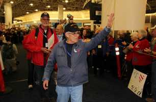 Donations can be made at any of the Honor Flight events or on their website starsandstripeshonorflight.org.