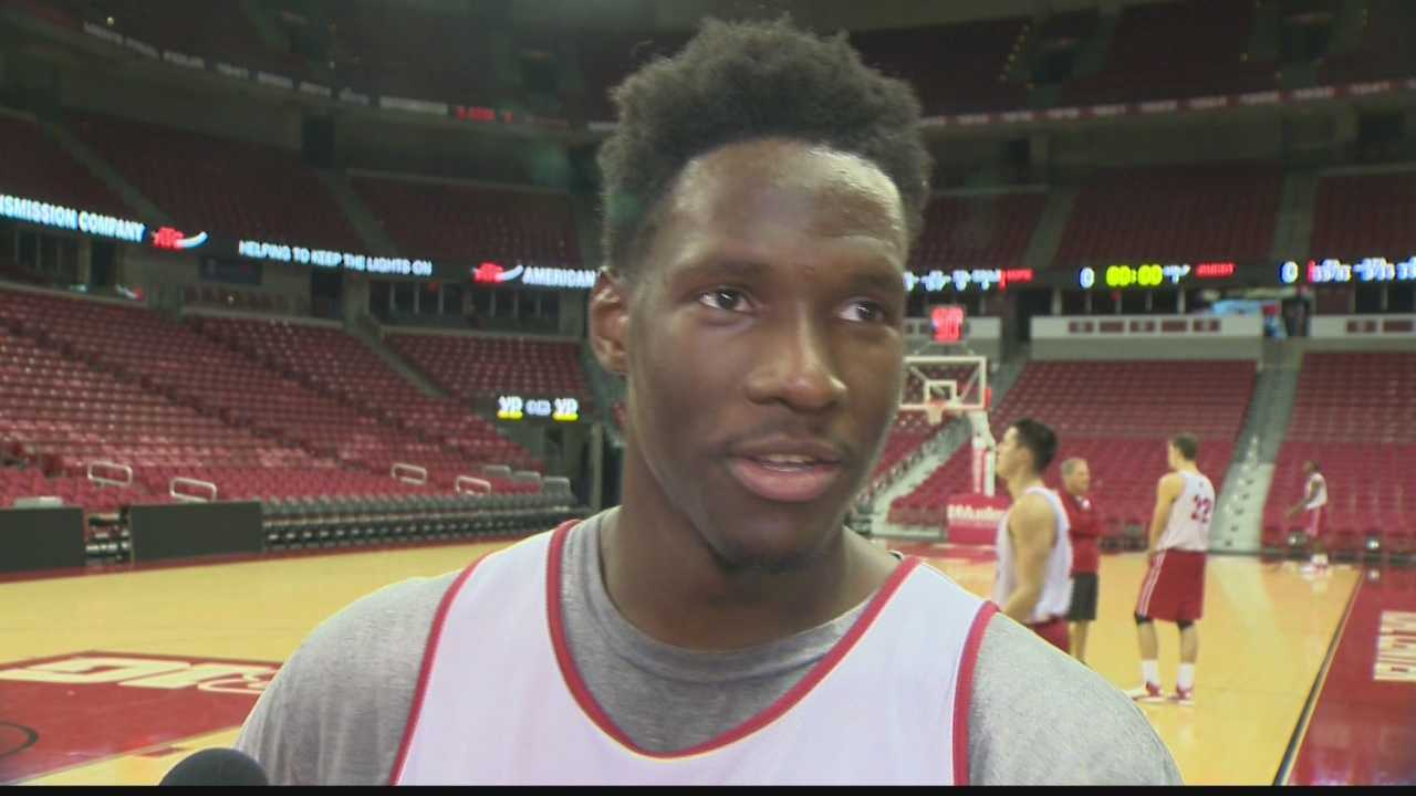 Nigel Hayes confesses how he enjoys crashing weddings.