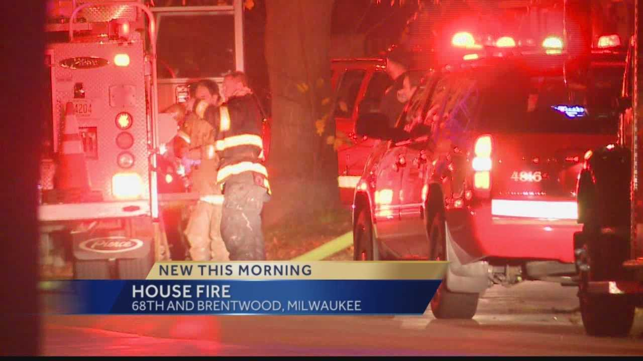House Fire in Milwaukee