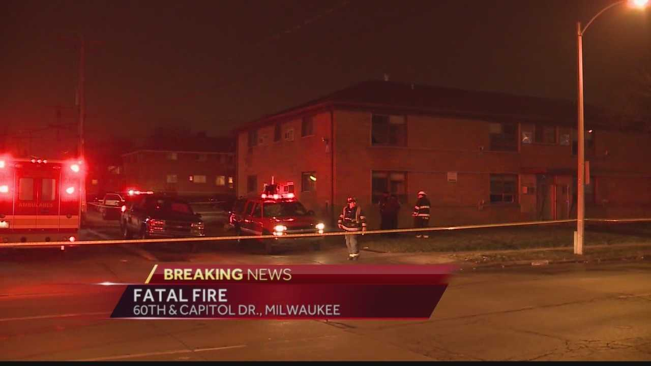 Milwaukee police and fire departments are investigating a fatal fire in the area of 60th and Capitol.