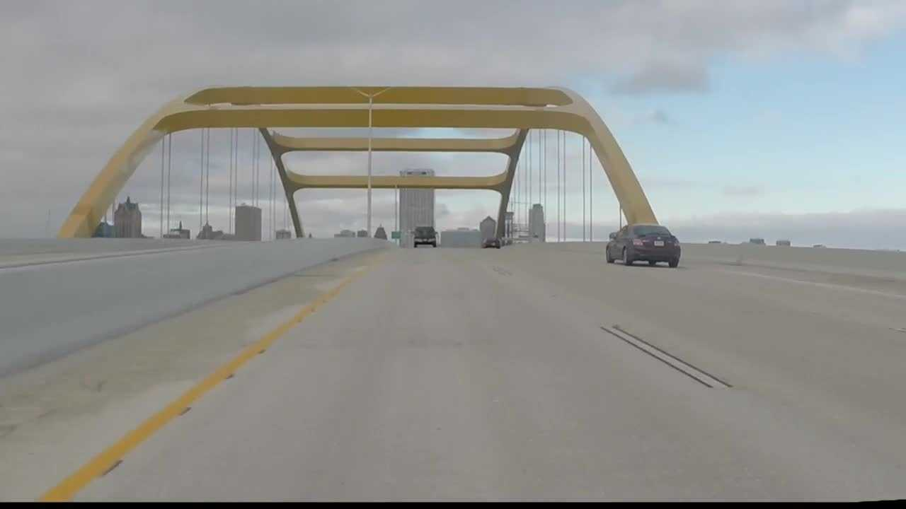 WISN 12's Kent Wainscott reports how two major road projects are reshaping Milwaukee's lakefront.