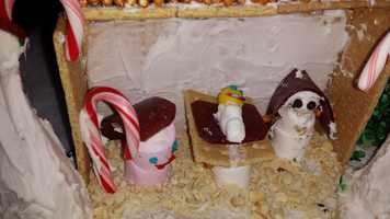 How about a marshmallow manger?