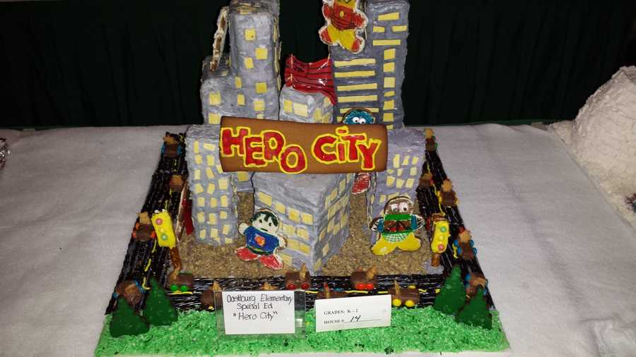 "Oostburg Elementary Special Ed's ""Hero City"""