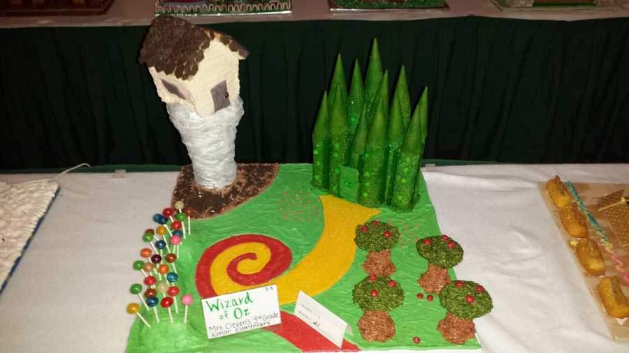 "Follow the Yellow ""brick"" road to this 3rd Grade ""Wizard of Oz"" entry"