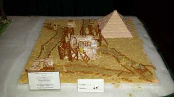 """The Great Pyramids Under Construction"""