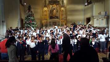The Cherub Choir at St. Marcus Lutheran Church