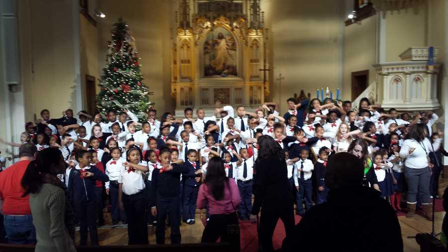 The Cherub Choir at St. Marcus Lutheran Church