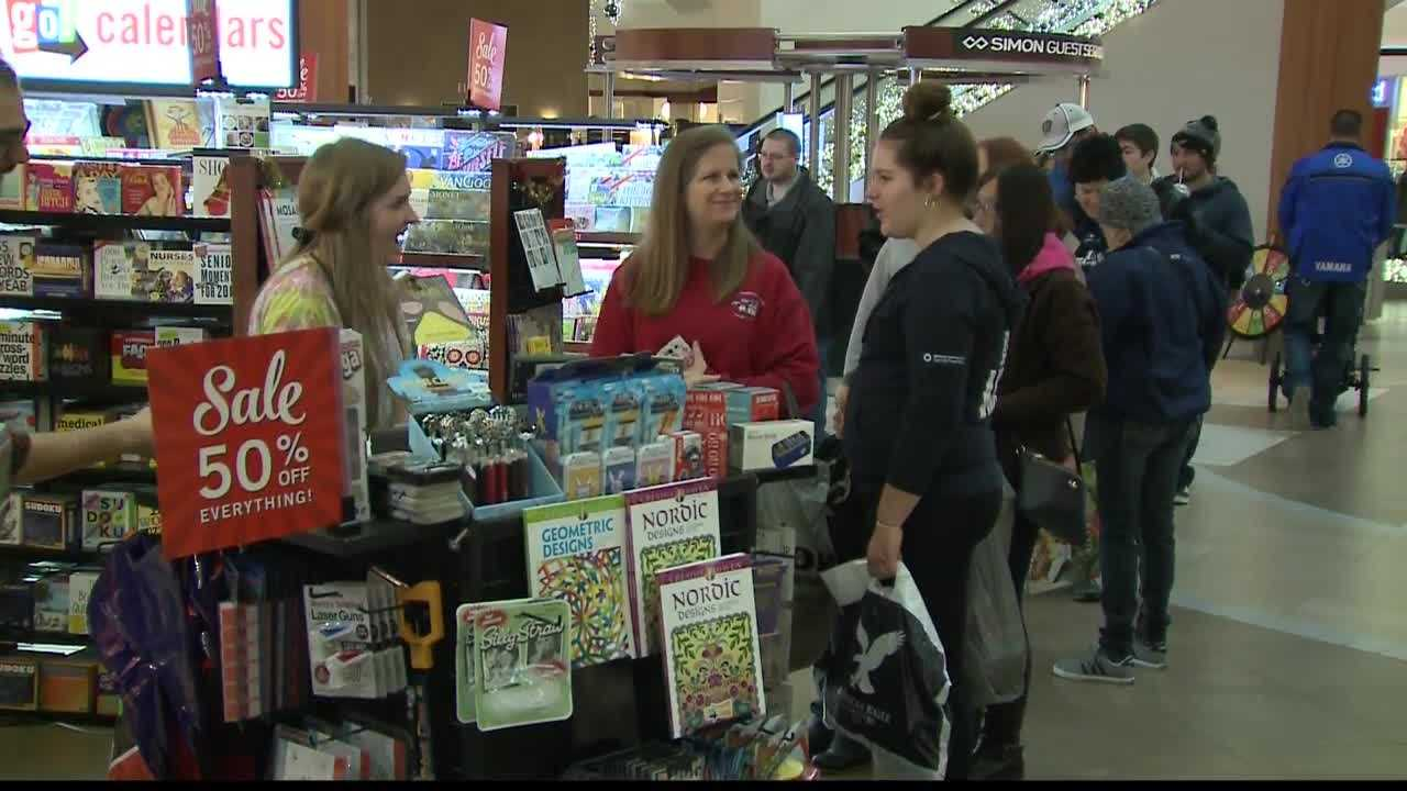 An American Express survey found that considerably more people planned to shop on the day after Christmas than on Black Friday. These Southridge Mall shoppers were among those looking to use up holiday gift cards and make returns.