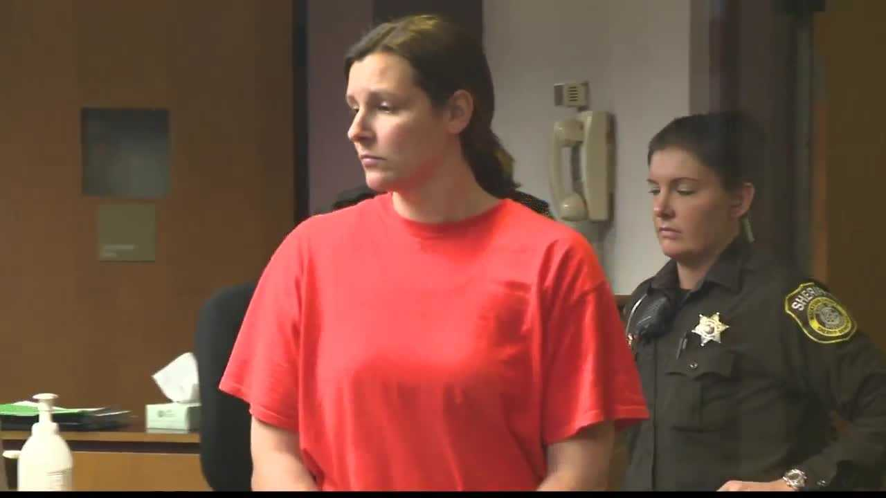 April Novak is accused of having sex with a student, and her attorney is working to get her $100,00 bail lowered.