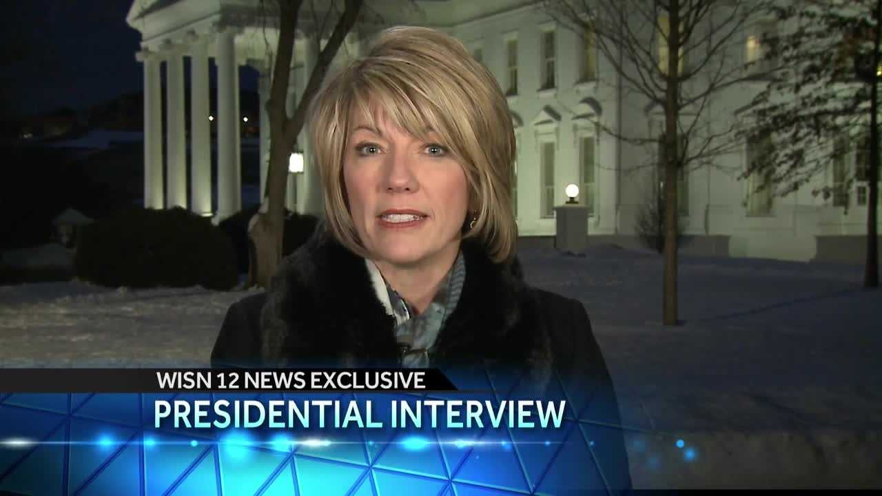 WISN 12 anchor Joyce Garbaciak sits down with President Obama to talk about the healthy communities challenge.. and Milwaukee's role in it.