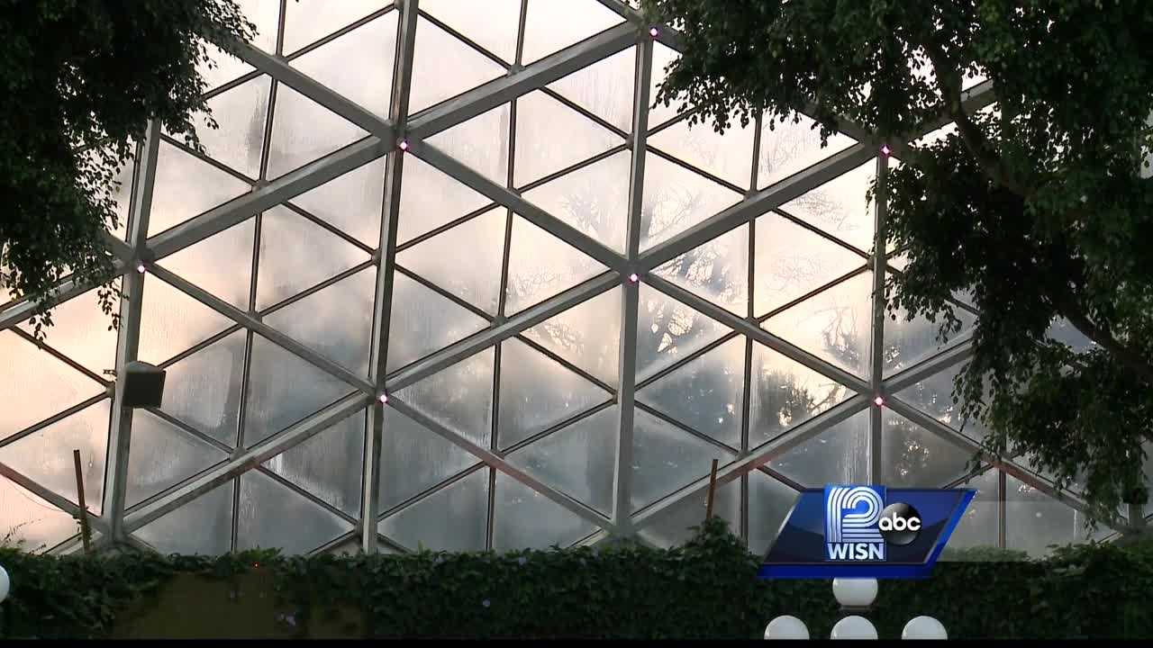 The Mitchell Park Domes have been shut down for safety concerns.