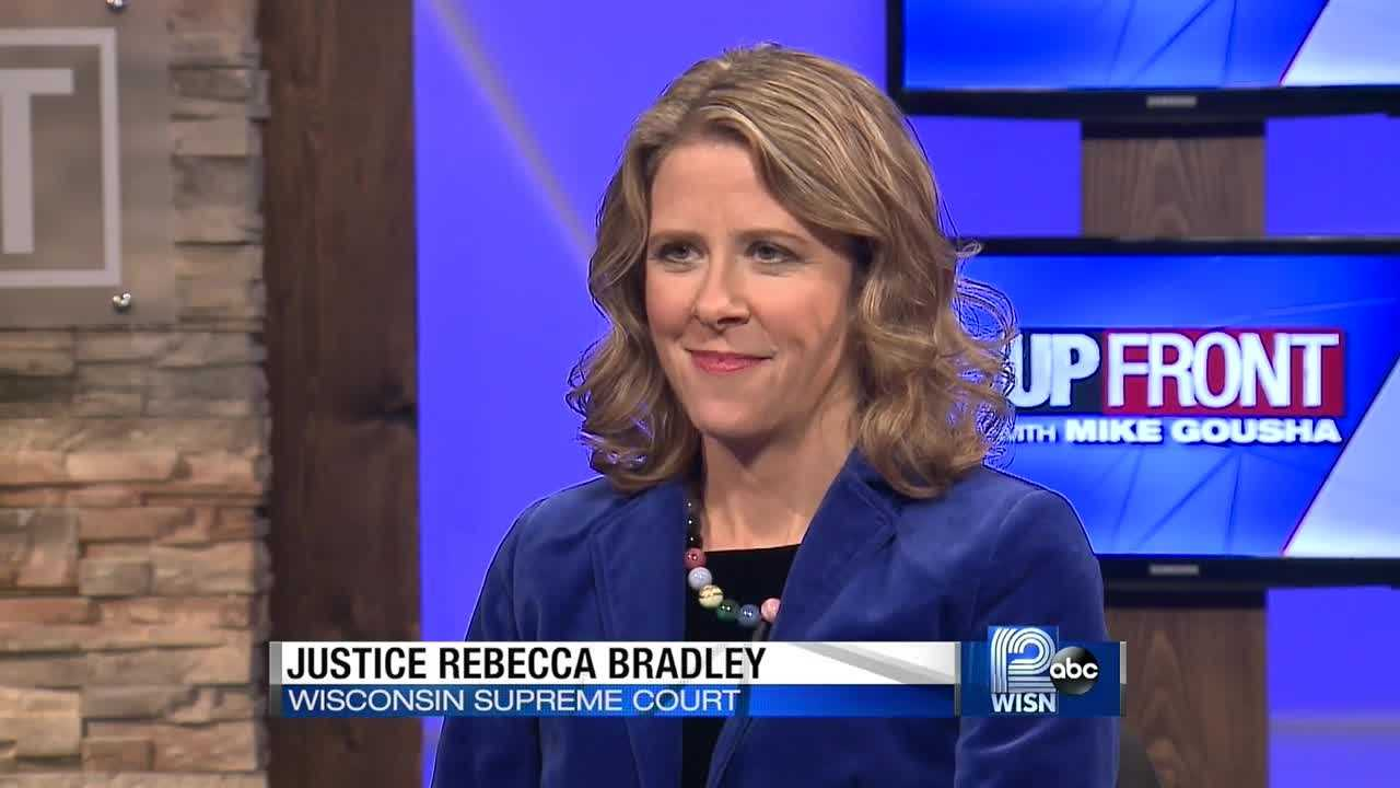 Wisconsin Supreme Court Justice Rebecca Bradley says her narrow victory in Tuesday's primary wasn't unexpected, due to her opponent's name recognition.