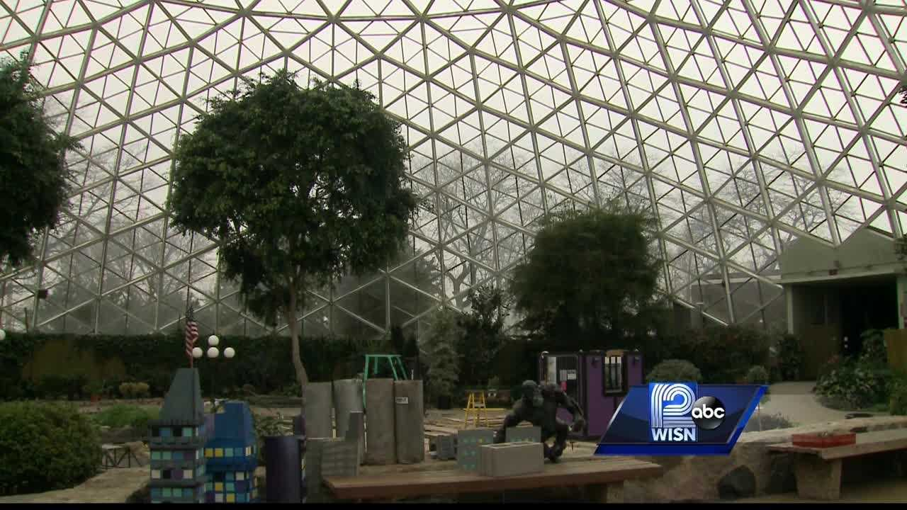There is a plan underway to make temporary repairs to the Show Dome