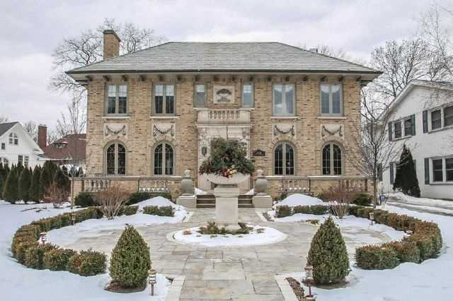 Welcome home to this stunning, restored brick Colonial. Beautifully manicured lot with stately presence professionally landscaped with charming patio.