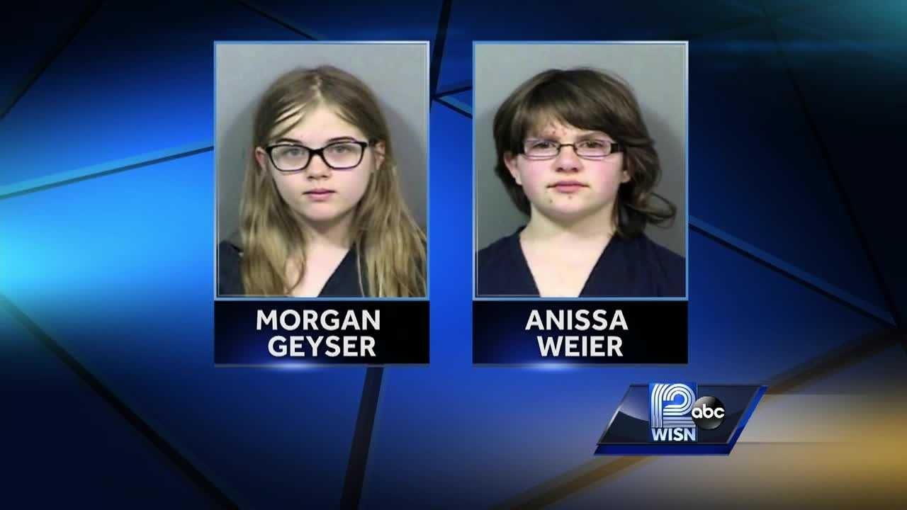 Geyser and Weier stabbed a fellow classmate to please the fictional character Slenderman