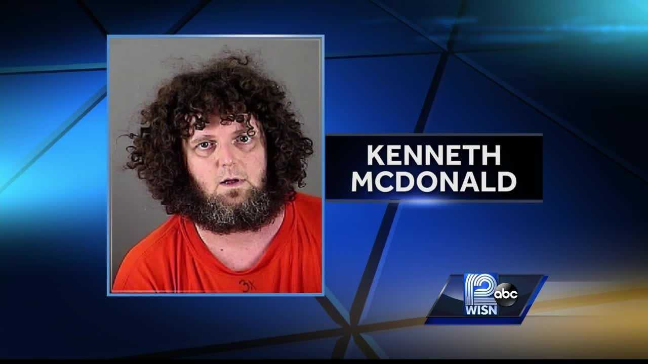 Kenneth McDonald was arrested for walking too close to an elementary school.