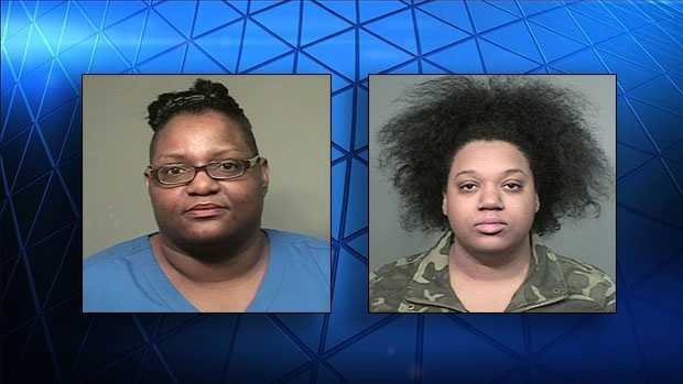 Latonioa Patrice Howell (L) and Jasmeika Shaneise Simon (R) face fines of up to $10,000 and up to six years in jail.