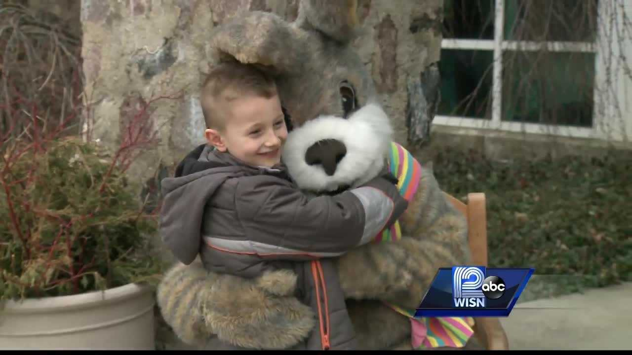 Local kids met with the Easter Bunny and even planted their own carrots at the Boerner Botanical Gardens on Sunday.