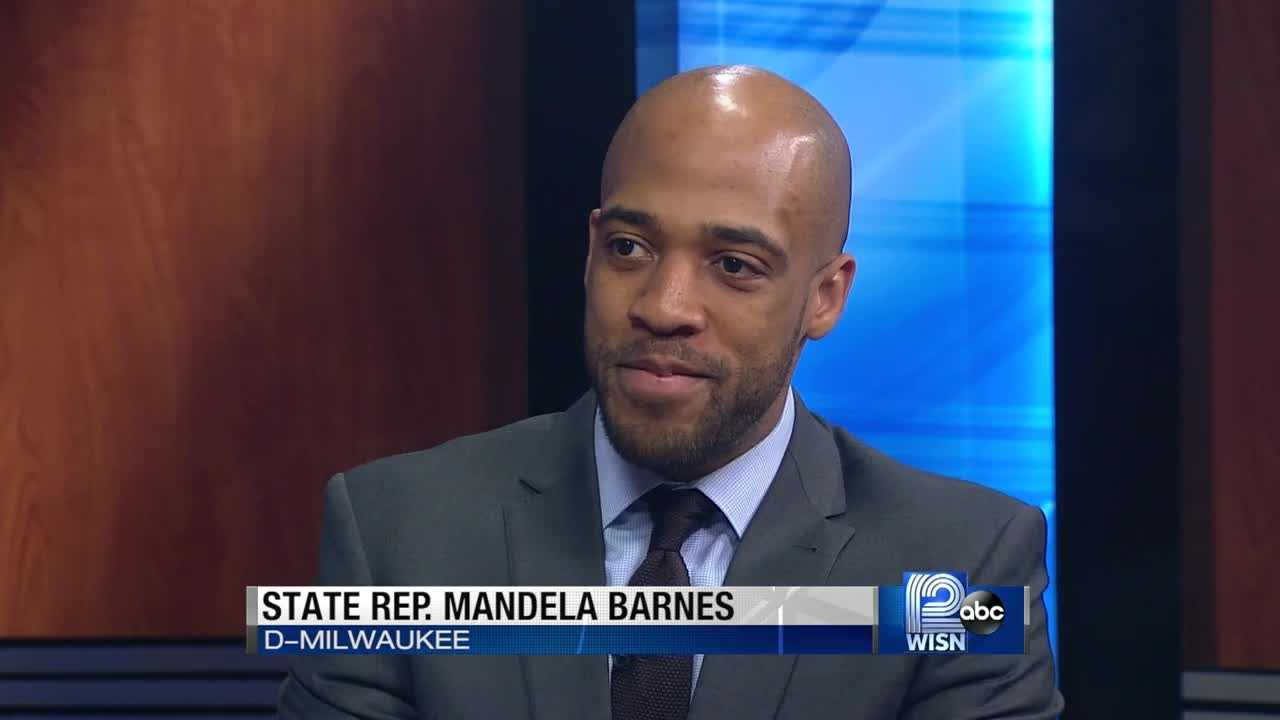 State Rep. Mandela Barnes, D-Milwaukee, says his primary challenge of state Sen. Lena Taylor, D-Milwaukee, is about issues and leadership.