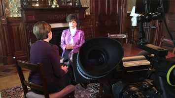 Kathy has a sit-down with Valerie Jarrett, President Obama's senior advisor.
