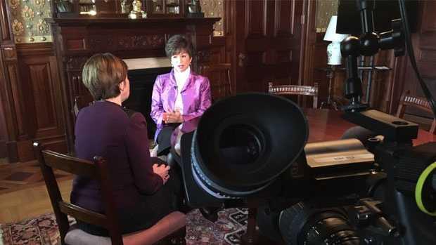 Kathy has a sit-down with Valerie Jarrett, President Obama's senior advisor.