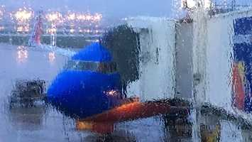 It was a rainy Sunday morning in Milwaukee as WISN 12 NEWS' Kathy Mykleby and photojournalist Bob Palmer awaited their plane to Washington, D.C.