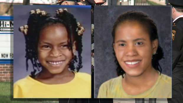 Alexis Patterson was 7 years old when she vanished on May 3, 2002. An age-progression photo on the right shows how she may look today.