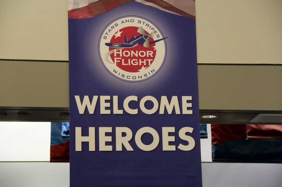 The help and support that the airport provides for each homecoming is unparalleled.  The vets get the homecoming the deserve because of the amazing collaboration.  The emphasis is on the vets and making sure they have the best experience possible.