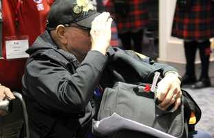 """The hub based in southeastern Wisconsin is called """"Stars and Stripes Honor Flight""""."""