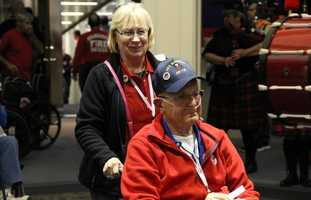 On Saturday, May 14, 2016 Stars and Stripes Honor Flight took their 33rd flight of veterans to Washington D.C.