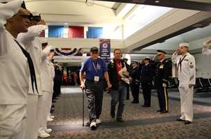 Honor Flight relies on individual and corporate donations to fly as many vets as possible.