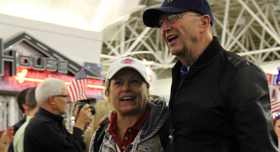 It is very touching to see all of the smiles (and sometimes tears) as the vets react to this much deserved honor.