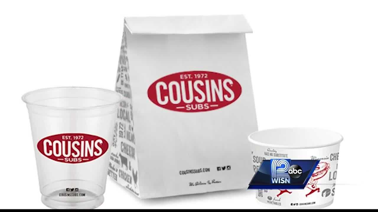WISN 12 News' Tim Elliott shows us the big changes happening at Cousins Subs.
