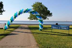 The run/walk kicked off around 10am at Veterans Park along Milwaukee's Lakefront.