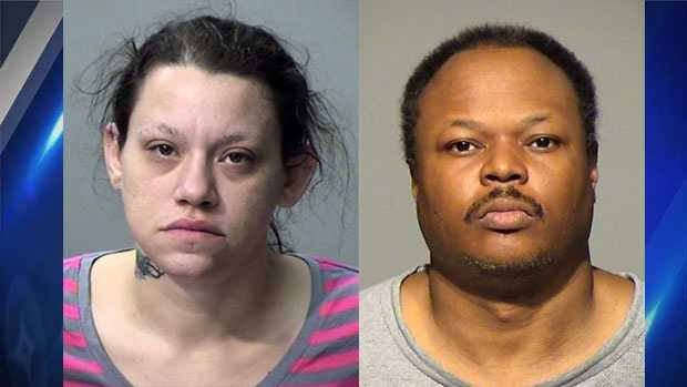 Tiffany Simmons & Shanta Pearson as seen in booking photos from 2015.
