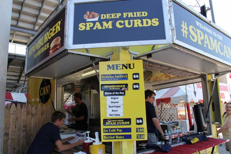 Original, Jalapeno, Black Pepper, Bacon and Hot & Spicy are the flavors offered at the WI State Fair this year.