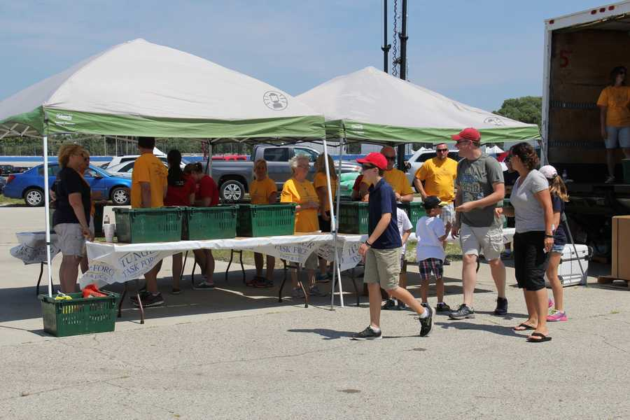 Hunger Task Force expects this to be their biggest festival donation drive of the year.