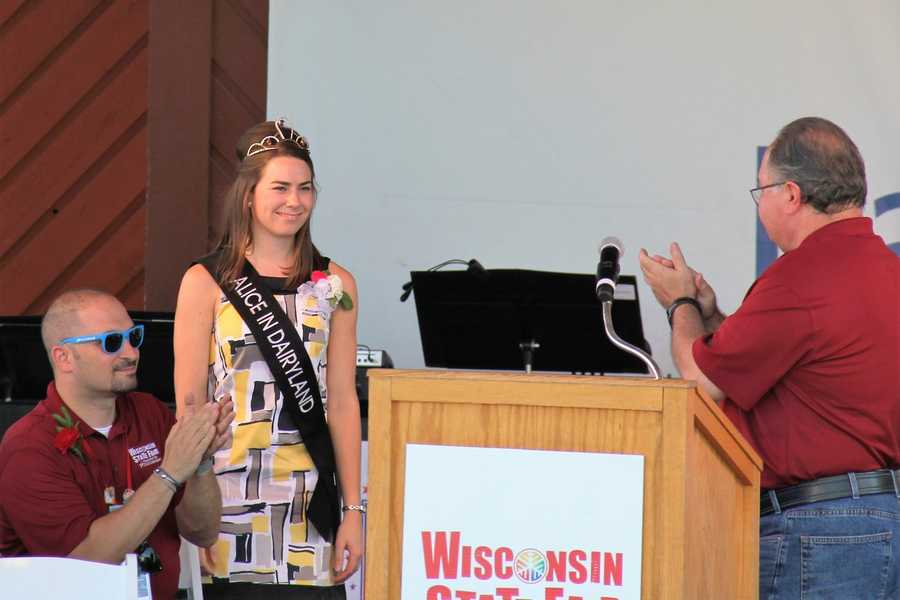 2016 Alice in Dairyland- Ann O'Leary