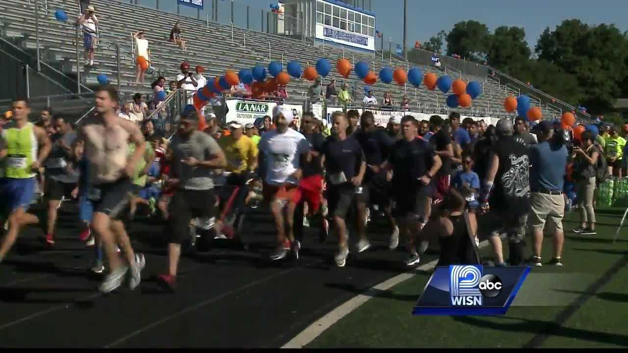 Today, hundreds of people gathered to remember the victims with an annual event.